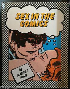Sexo-en-la-Comics-Libro-de-Tapa-Dura-de-Maurice-Trompeta-Chelsea-House