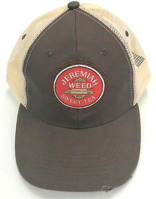 - JEREMIAH WEED RUGGED LOOK TRUCKER STYLE HAT/CAP...NEW!!!
