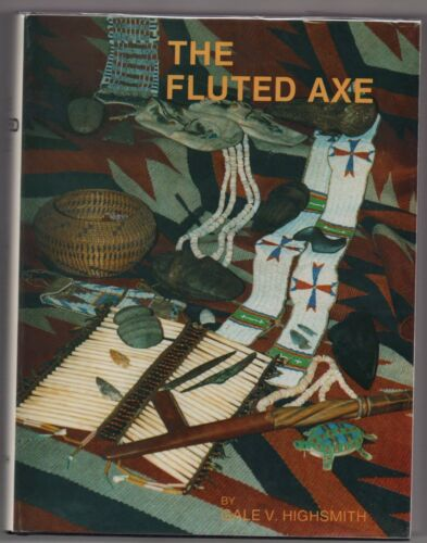 The Fluted Axe Hardbound Book in D.J. by Gale V. Highsmith  1985, First Edition