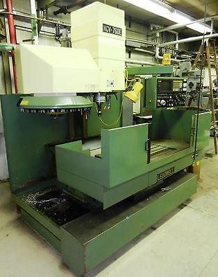 Mcv-760e Leadwell Cnc Vertical Mill Meldas Nc Control Tool Holder Cart Wvs