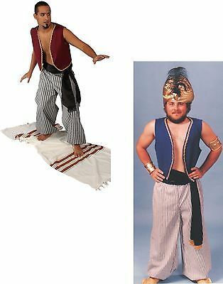 ADULT MALE ARABIAN SINBAD PAUPER ALADDIN PIRATE HALLOWEEN COSTUME (Male Arabian Costume)