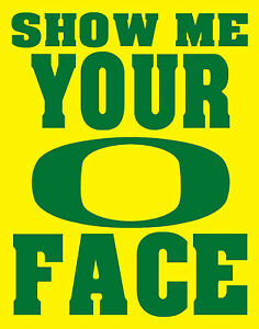 Show me your o face