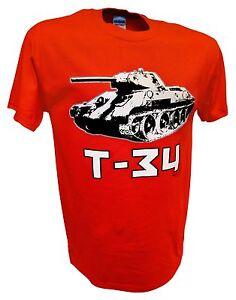 T34-Russian-Tank-Panzer-World-of-Tanks-Red-Army-Ww2-1-35-Scale-Rc-Model-T-Shirt