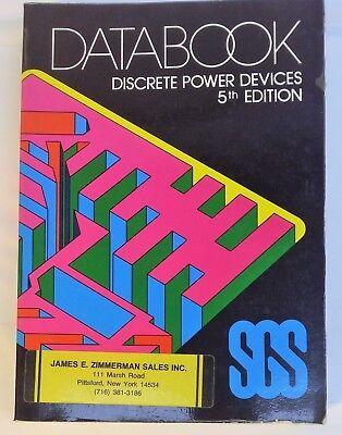 Руководство 1982 SGS - Discrete Power