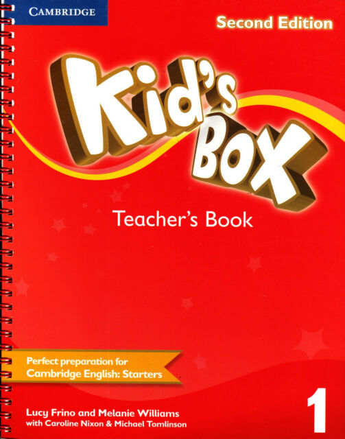 Cambridge KID'S BOX 1 Teacher's Book SECOND EDITION (2014) for STARTERS @NEW@