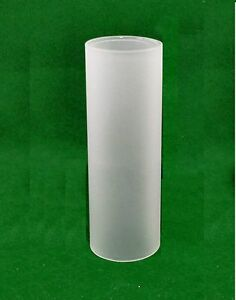 Cylindrical Natural Frosted Glass Lampshade Lighting Tube
