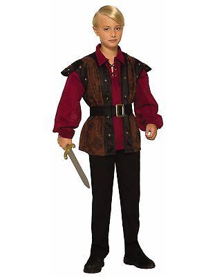 Renaissance Faire Boy Medieval Prince Fancy Dress Up Halloween Child Costume - Boys Prince Dress Up