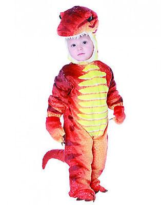 Rot Dinosaurier Jurassic Baby Tier Kleinkinder Halloween Kostüm ()