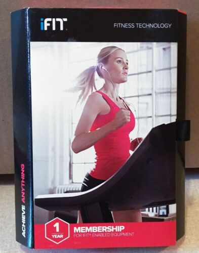 ICON IFIT1Y Health and Fitness iFit 1 Year Premium Membership Fitness Trainer
