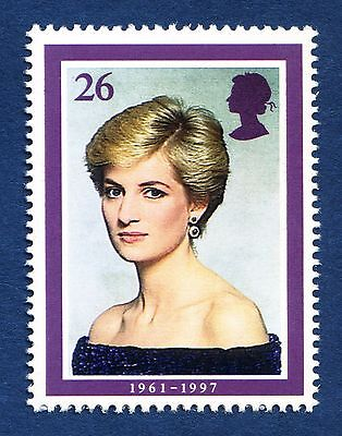 Lady Diana Princess of Wales (photo by Lord Snowdon) on 1998 Stamp - U/M