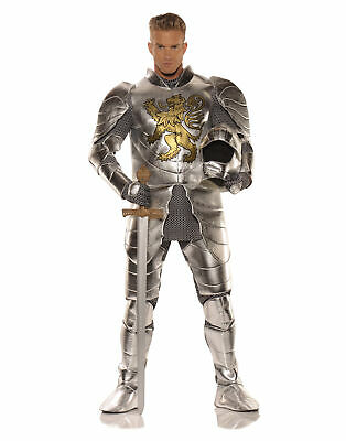 Knight In Shining Armor Medieval Adult Male Halloween Costume - One - Knight Shining Armor Kostüm