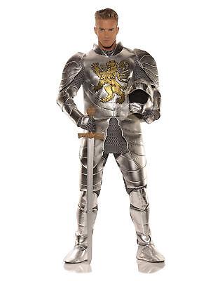 Knight In Shining Armor Halloween Costume (Knight In Shining Armor Medieval Adult Male Halloween Costume - One)