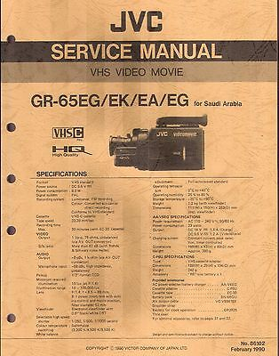 JVC Original Service Manual für GR- 65 EG