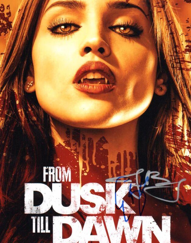 GFA From Dusk Till Dawn * EIZA GONZALEZ & JAKE BUSEY * Signed 8x10 Photo AD1 COA