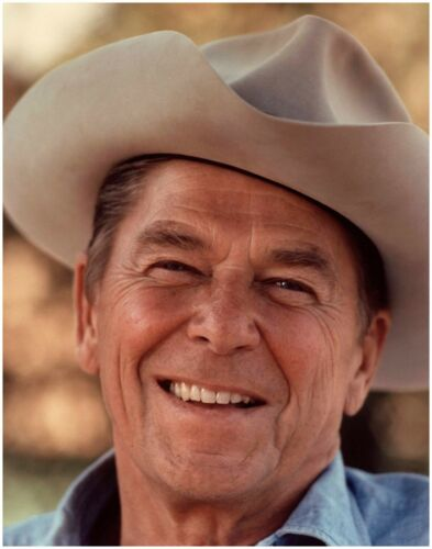 Official Historic Photo: President RONALD REAGAN Portrait Hollywood Cowboy Actor
