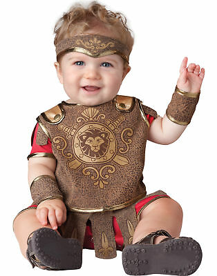 Baby Gladiator Roman Greek Soldier Infant Halloween Costume (Baby Soldier Costume)