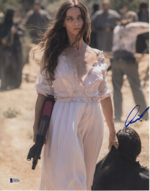 ANGELA SARAFYAN SIGNED WESTWORLD PHOTO! 11X14 AUTOGRAPH BAS PSA