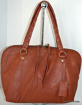 Usado, Linea Pelle Brown Satchel Leather Bag Handbag Purse Sac Bolsa NWT comprar usado  Enviando para Brazil