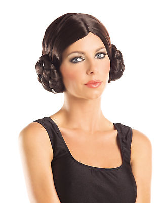 Galactic Princess Sci-Fi Adult Womens Halloween Costume Accessory Wig