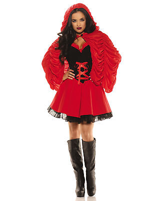 Little Red Sexy Storybook Character Adult Womens Halloween Costume