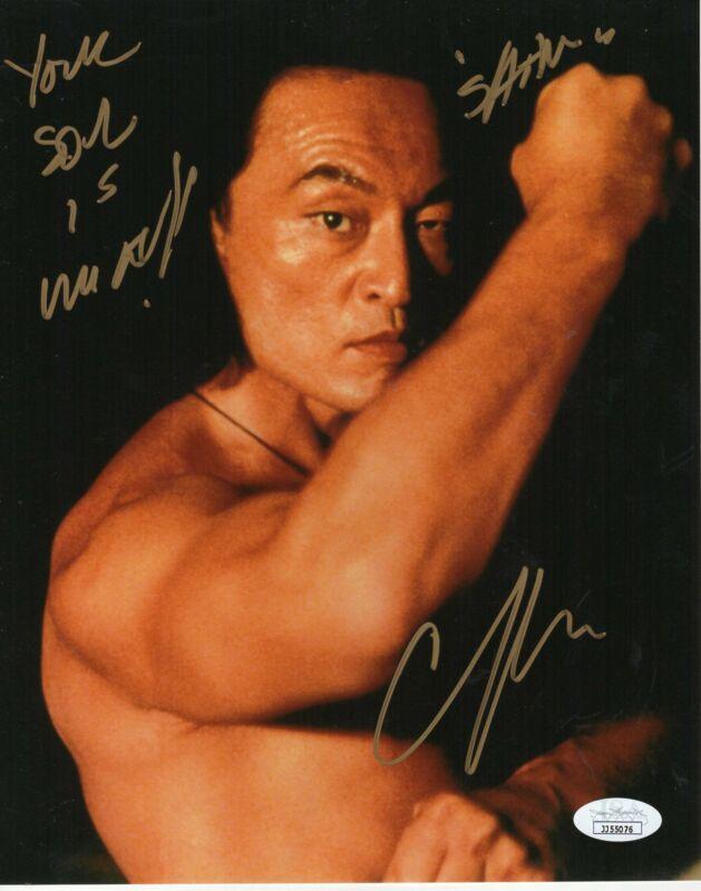Cary-Hiroyuki Tagawa Autograph 8x10 Photo Mortal Kombat Signed JSA COA 3