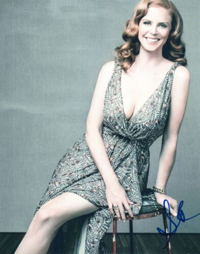 Sarah Rafferty Signed Autographed 8x10 Photo Suits Star COA VD
