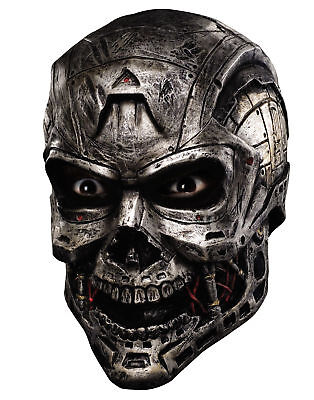 Armageddon Latex Skull Mask Halloween Costume Accessory