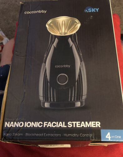 Sky Nano Ionic Facial Steamer for Skin Renewal Blackhead Ext