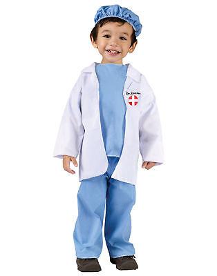 Dr. Littles Doctor Uniform Scrubs Toddler Halloween Costume](Toddler Doctor Costume)