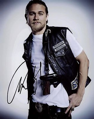 Sons Of Anarchy   Charlie Hunnam Signed 8X10   Not A Pre Print   Jax Photo