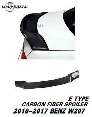 Carbon Fiber Rear Spoiler For Benz 10-17 E Class W207 C207 Coupe 2dr Type E