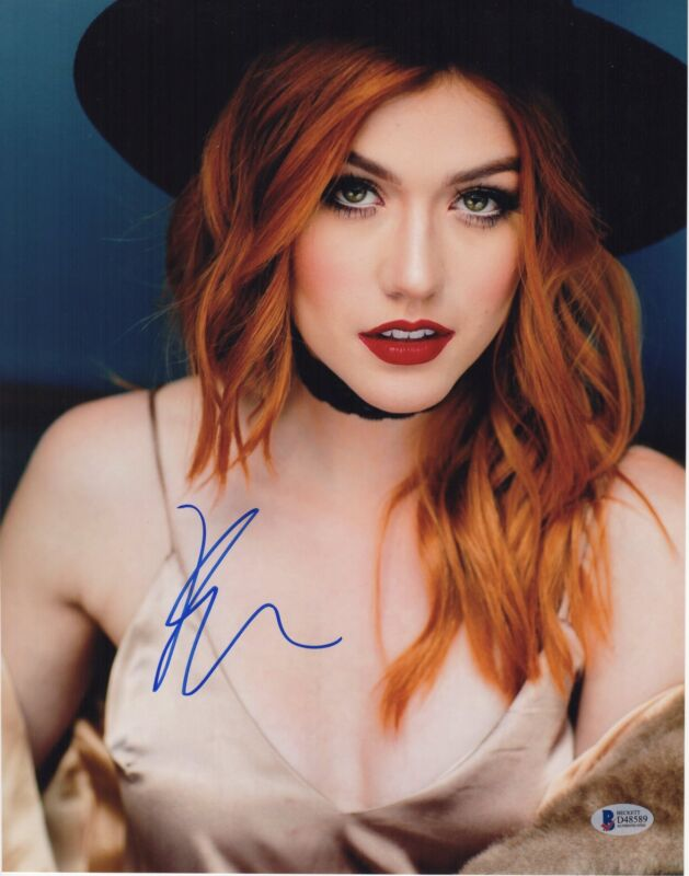 KATHERINE MCNAMARA SIGNED PHOTO 11X14 SHADOWHUNTERS SEXY AUTO BAS