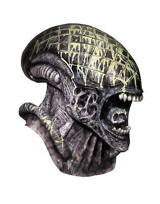 Deluxe Alien Queen Gemeinkosten Latex Horrorfilm Maske Kostüm (Deluxe Alien Kostüm)