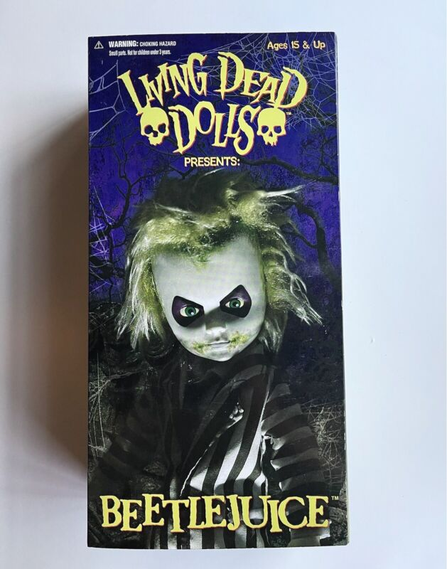 Mezco Living Dead Dolls Beetlejuice Mezco Toys 2010 Betelgeuse