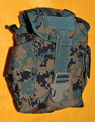 USMC MARPAT Woodland Digital 1 quart Canteen cover only   Brand new