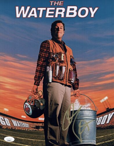 Adam Sandler Signed THE WATERBOY 11x14 Photo IN PERSON Autograph JSA COA
