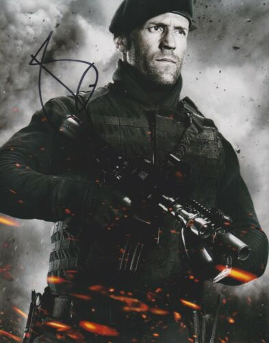 Jason Statham Signed The Expendables 10x8 Photo AFTAL