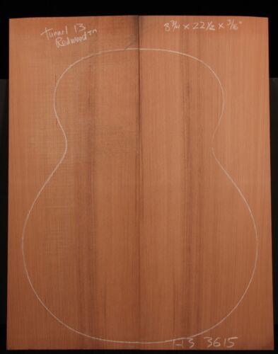 Tunnel 13 Redwood® Guitar top
