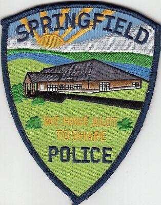SPRINGFIELD MINNESOTA MN POLICE SHOULDER PATCH