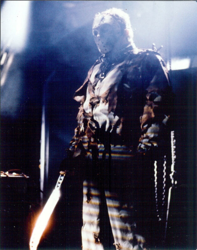 Friday The 13th Jason 8x10 color scary photo