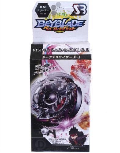 Galaxy Pegasus (Pegasis) BB-70 BEYBLADE Masters Fusion Metal+GRIP+BLUE LAUNCHER