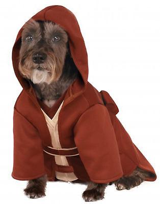 Star Wars Jedi Meister Bademantel Halloween Haustier-Kostüm