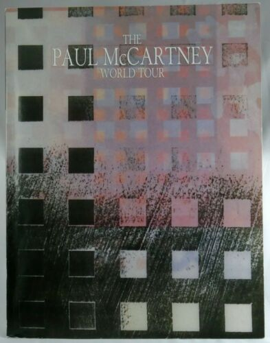 PAUL MCCARTNEY 1989 / 1990 WORLD TOUR PROGRAM 96 PAGES