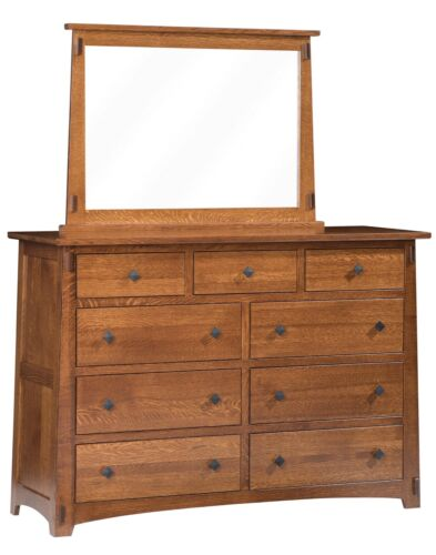 """Mission Arts And Crafts Stickley Style 60"""" High Dresser - New - Made To Order!"""