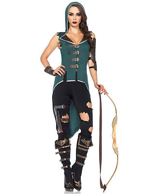 Rebel Halloween Costume (Rebel Robin Hood Storybook Adult Womens Halloween)