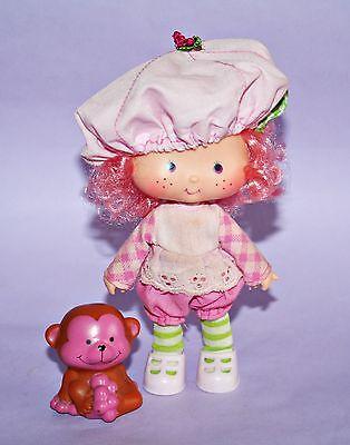 Emily Erdbeer Puppe / Strawberry Shortcake *Raspberry Tart with Rhubarb Monkey*