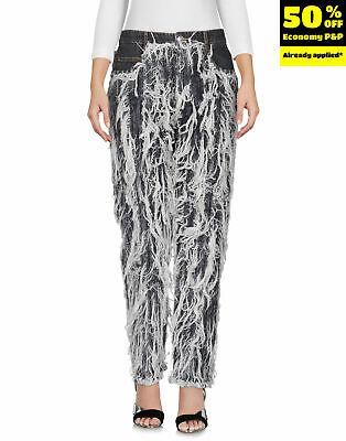 NWT $675.00 EACH X OTHER Shredded Denim Jeans Sz.24