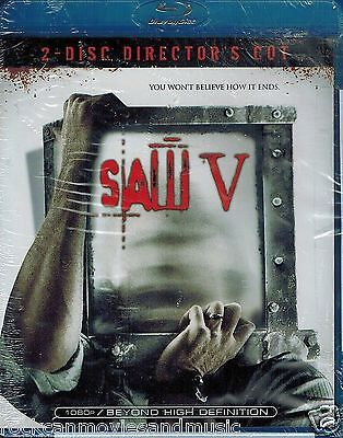SAW V Blu-ray Sealed Horror Halloween