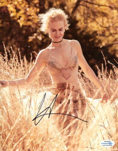 Nicole Kidman Batman Autographed Signed 8x10 Photo ACOA #3