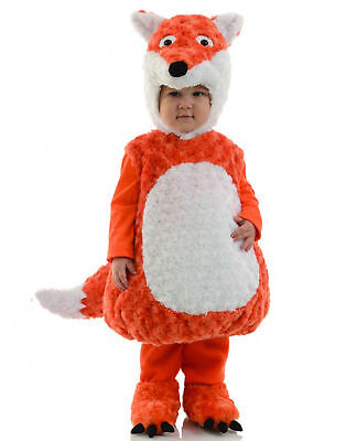 Kids Fox Halloween Costume (Kids, Toddlers, Fox Animal Belly Babies Toddler Halloween Costume - Brand)